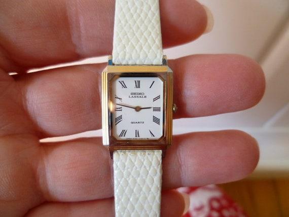 seiko lassale quartz watch, seiko watch, lassale