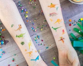 Boys Dinosaur Temporary Tattoos- Favors, party decor
