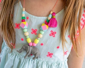 Painted Party Animal Necklace Kit -DIY Kit