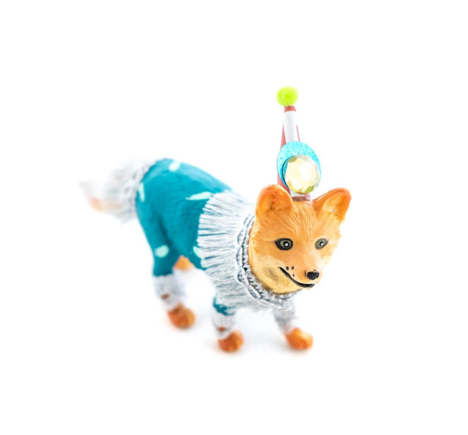 Circus Fox Cake Toppers by Painted Parade