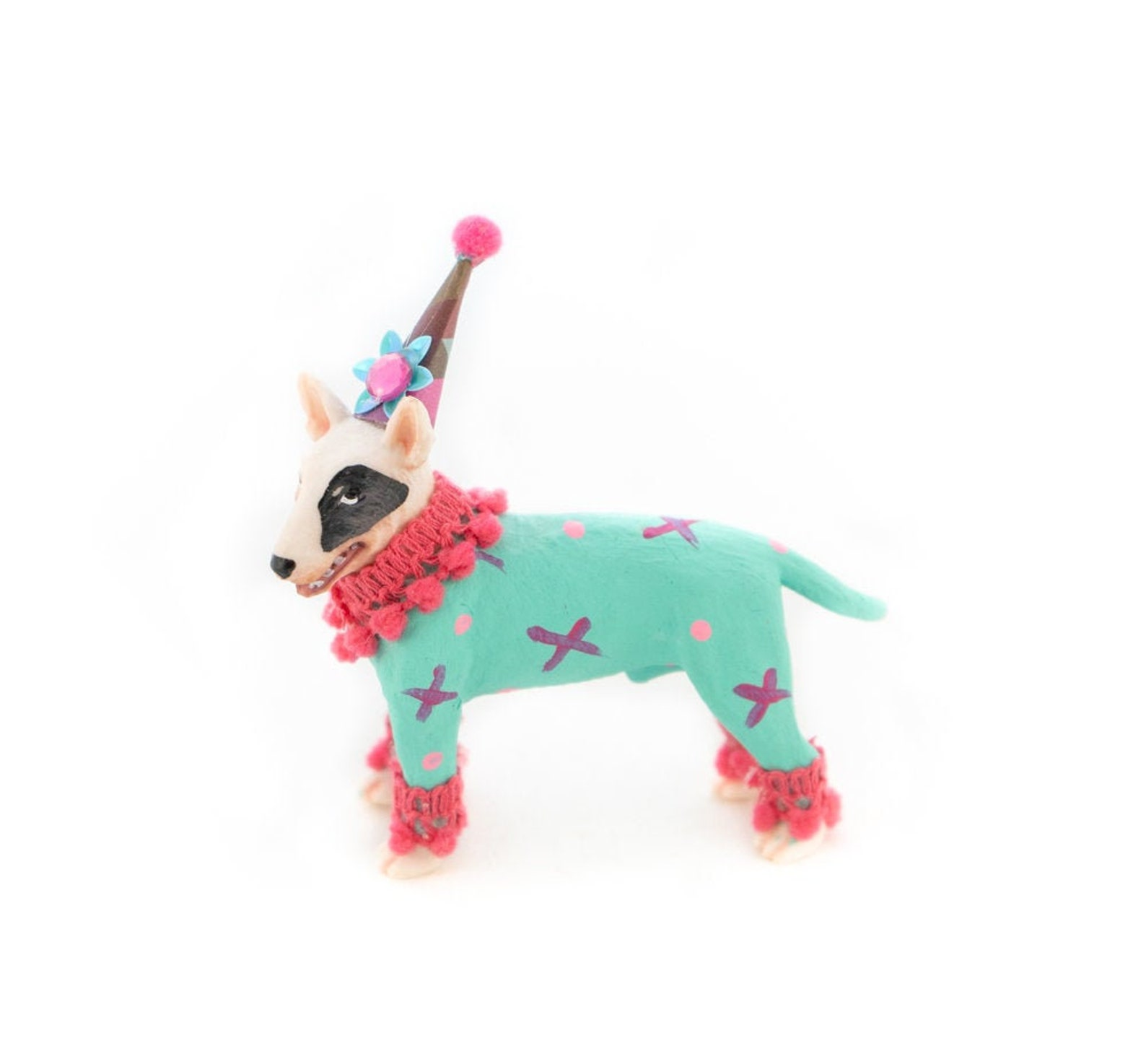 Circus Dog Cake Toppers