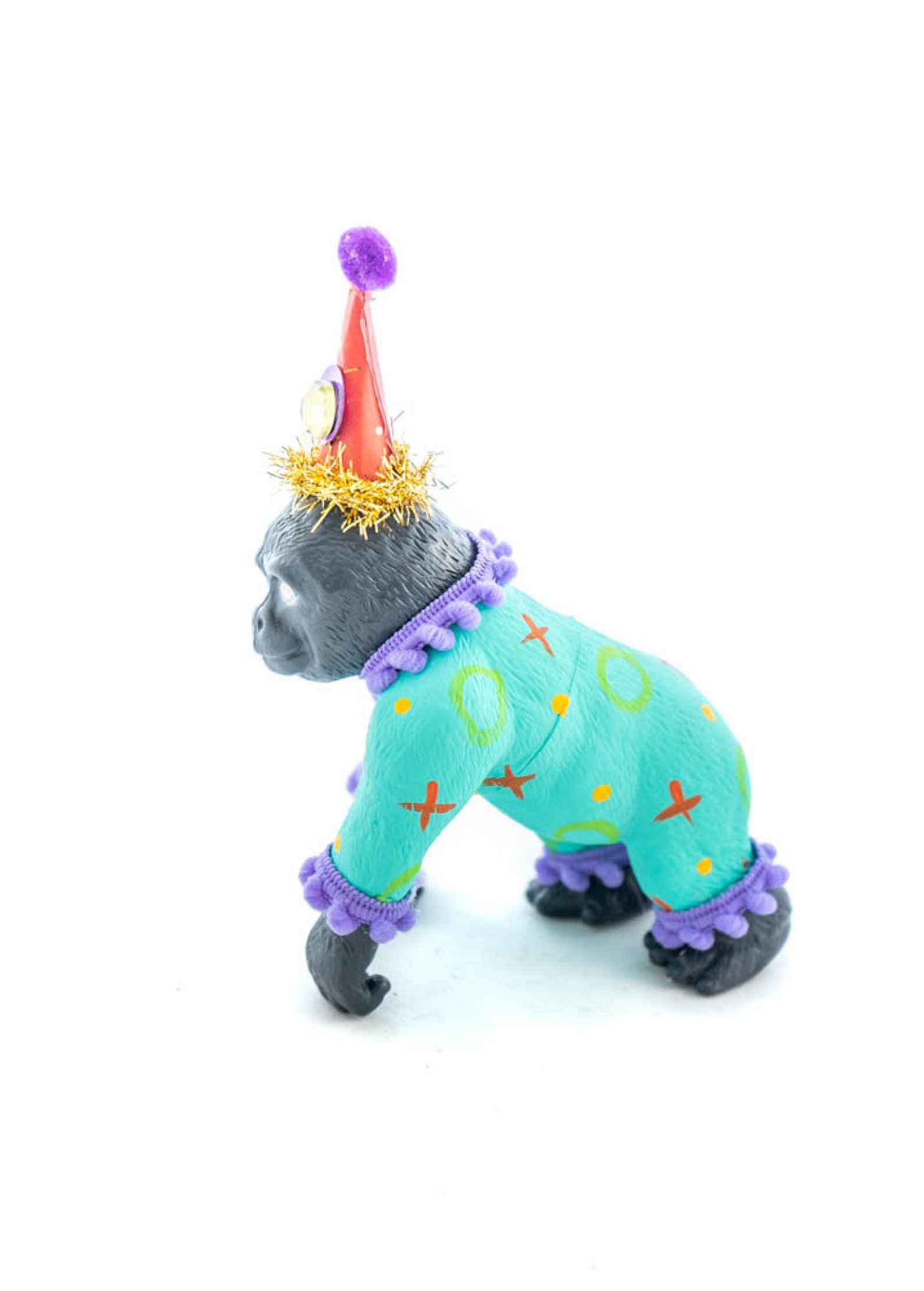 Circus Gorilla Cake Toppers by Painted Parade