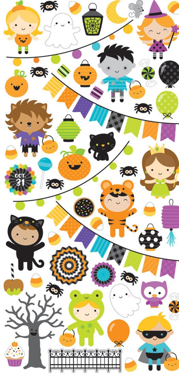 Doodlebug Design Spooky Sprinkles Washi Tape Pumpkin Party