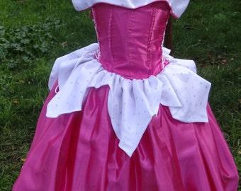 Aurora Dress or Sleeping Beauty Dress handmade Princesses