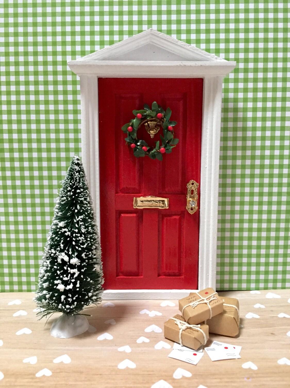 Christmas Fairy Door Fairy Door Tooth Fairy Door Magical Etsy