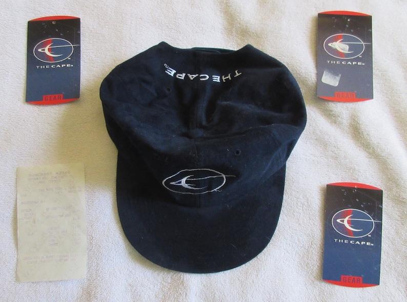 1996 The Cape TV series, 2 T-shirts, cap, licensed merchandise