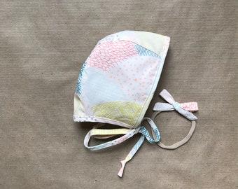 Handmade Baby Bonnet: Layton