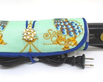 Straightener, Hot, Flat Iron Wrap and Mat Holder, Cover, Travel, Storage, Case, Protector, Heat Resistant