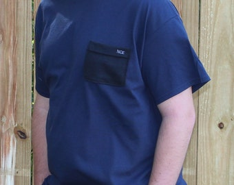 Men Monogrammed Pocket T-Shirt and Women