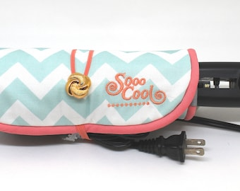 Straightener, Hot, Flat Iron Wrap and Mat, Holder, Cover,Travel, Storage, Case, Protector, Heat Resistant