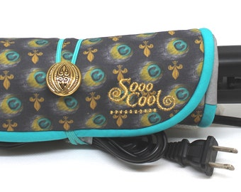 Straightener, Hot, Flat Iron Wrap and Mat, Holder, Cover, Travel, Storage, Case, Protector, Heat Resistant