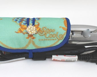 Mini Flat Iron Wrap and Mat, Holder, Cover,Travel, Storage , Case, Protector, Heat Resistant