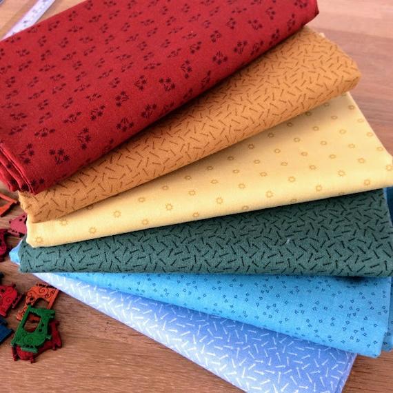 Heron Grey 100/% Cotton Linea Tonal Makower Fabric