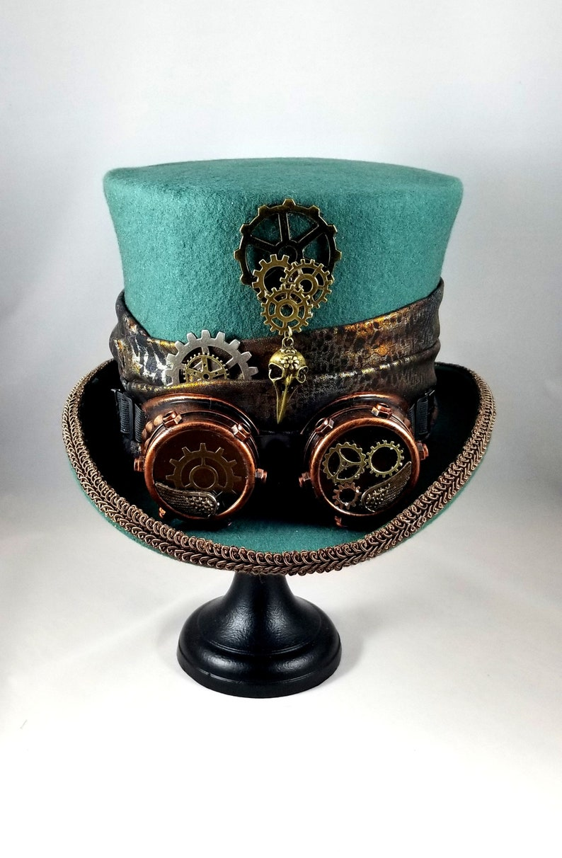 Hunter Green Top Hat for St. Patrick's Day