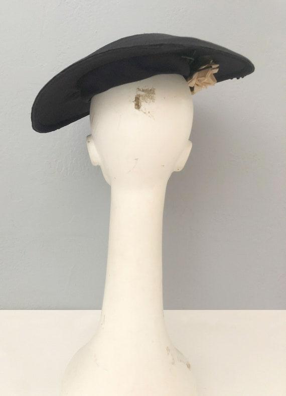 vintage 1930s Gage Original wide brim straw hat f… - image 5