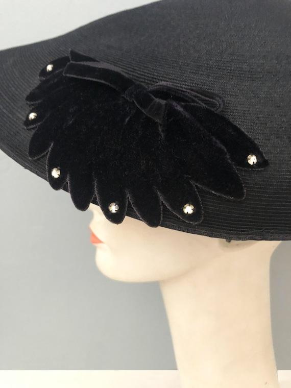 vintage 1930s Gage Original wide brim straw hat f… - image 7