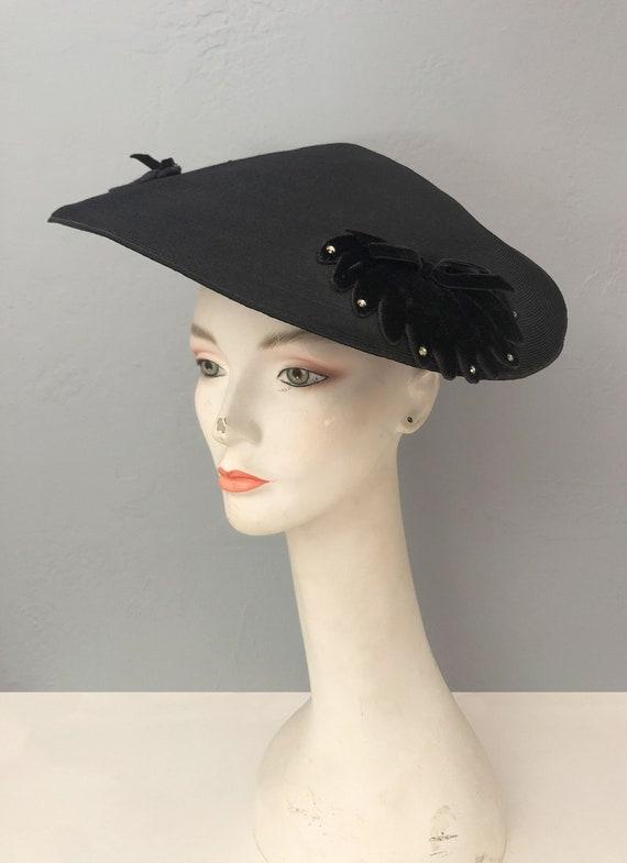 vintage 1930s Gage Original wide brim straw hat f… - image 8
