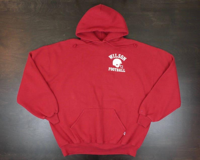 5dd98fc7d194da RUSSELL Athletic Sweatshirt 50 50 Hoodie Vintage Pullover