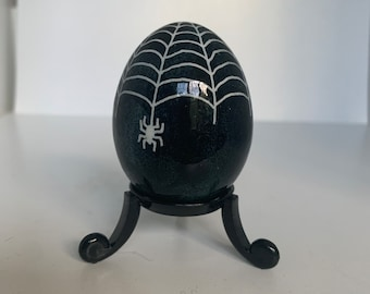 Halloween Spider Pysanky