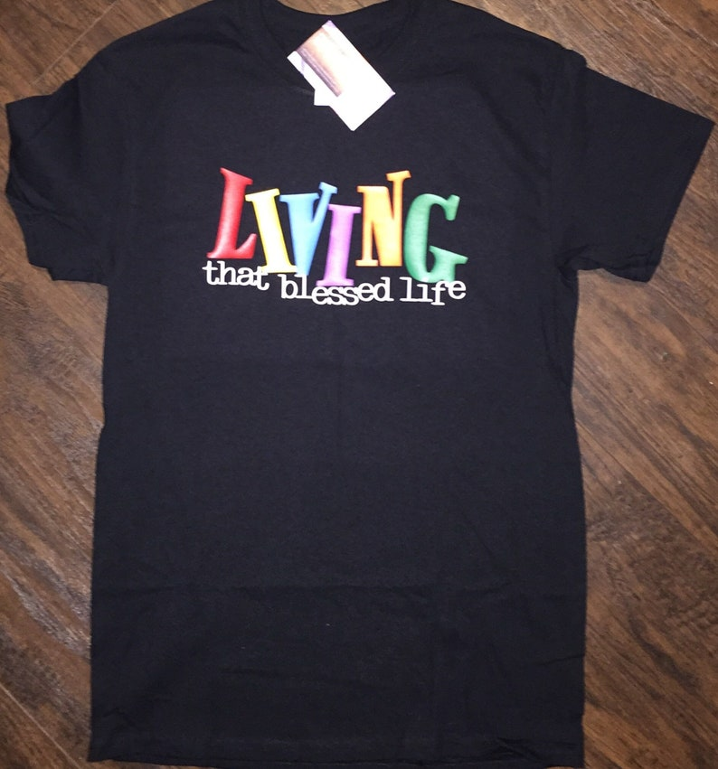 Infant toddler and youth Living that blessed life Shirt