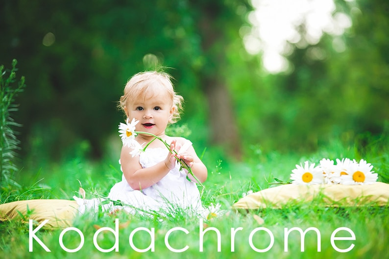Kodachrome Lightroom preset - Film retrò 10 preset - Adobe Lightroom preset  per 4, 5, 6 e CC