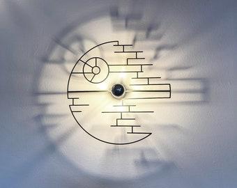 Walllamp , ceiling lamp, Star Wars, shadow