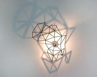 Walllamp, africa, wall lighting, ceiling lamp