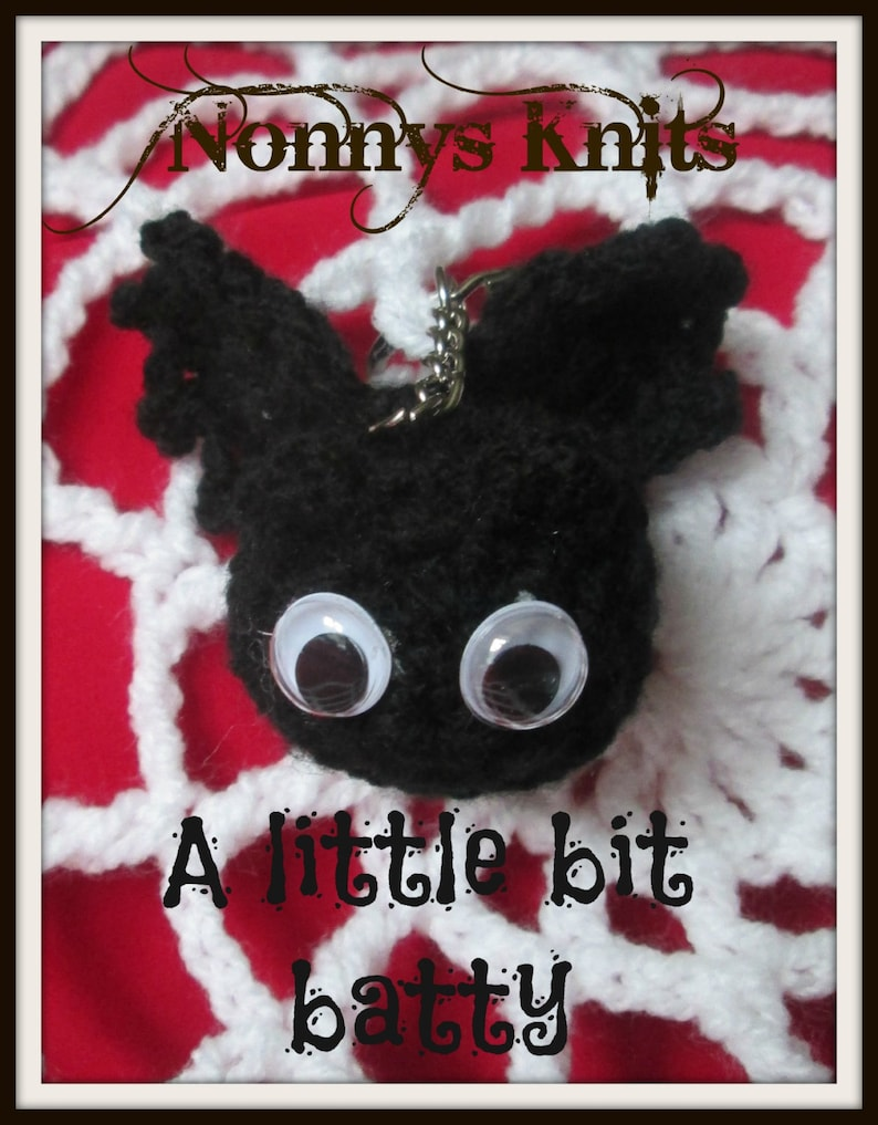 Set Of Six Crochet Halloween Decorations made to order only!