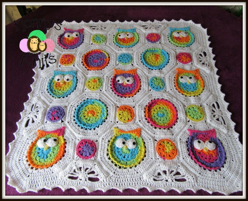 made-to-order Owl Blanket