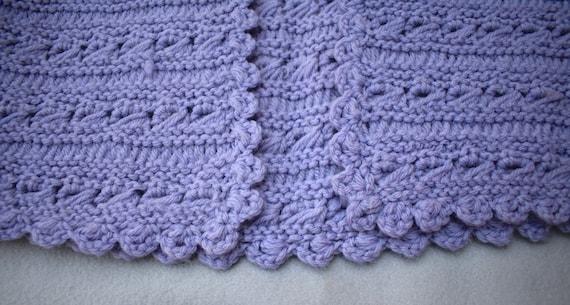 Hand Crochet Sweater Vest Size Small Medium Vinta… - image 6