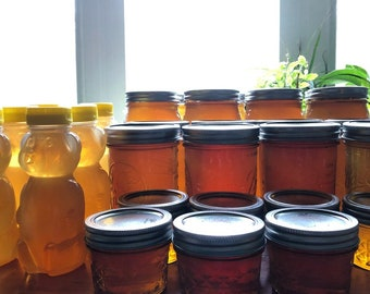 Raw Treatment-Free Honey for Local Pickup Only!