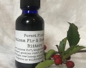 Balsam Fir & Hawthorn Bitters