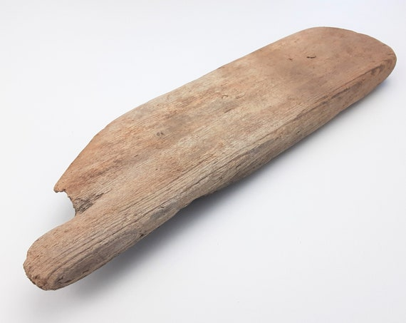 "Small, Rounded Driftwood Board, 13"" Long"
