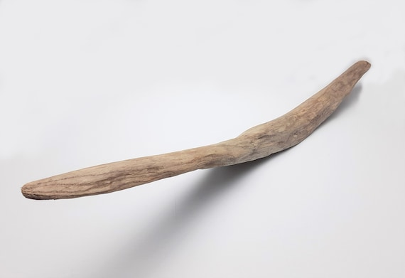 "Flat, Curved Driftwood Piece, 23.25"" Long"