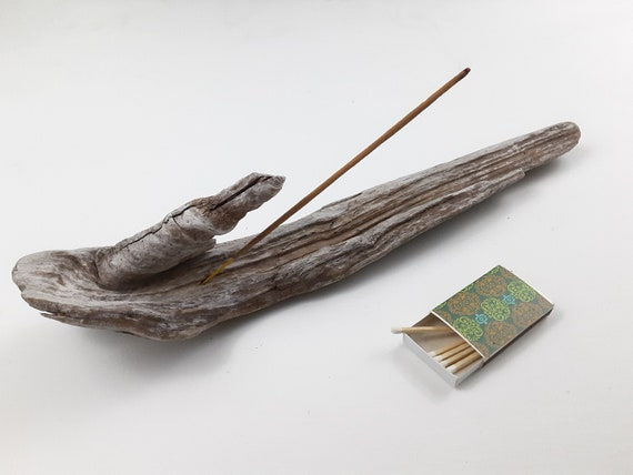 "Incense Holder, Natural Driftwood, 15"" Long"