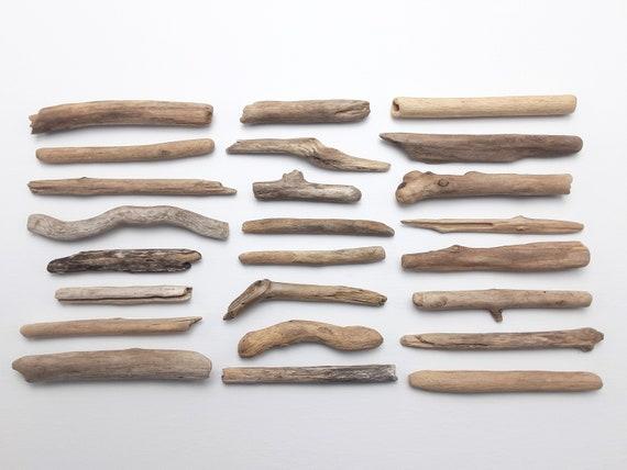 "24 Very Small 2.75-5"" Driftwood Sticks"