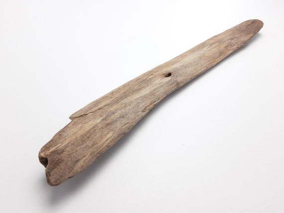 """Smooth, Rounded Driftwood Chunk, 16"""" Long"""