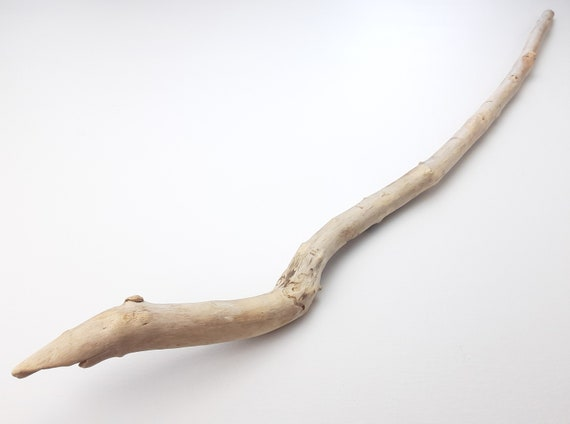 "Curved Driftwood Branch With Little Swoop, 36.5"" Long"