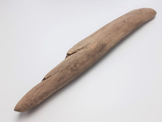 """Rounded Driftwood Chunk With Decorative Splits, 18 1/2"""" Long"""