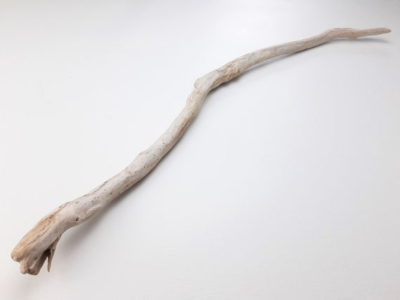 """Earthy, Curved Driftwood Branch, 30"""" Long"""