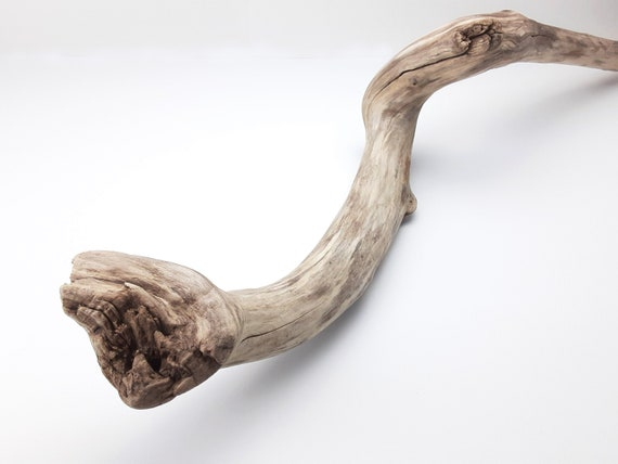 Gnarly Driftwood Wizard's Staff