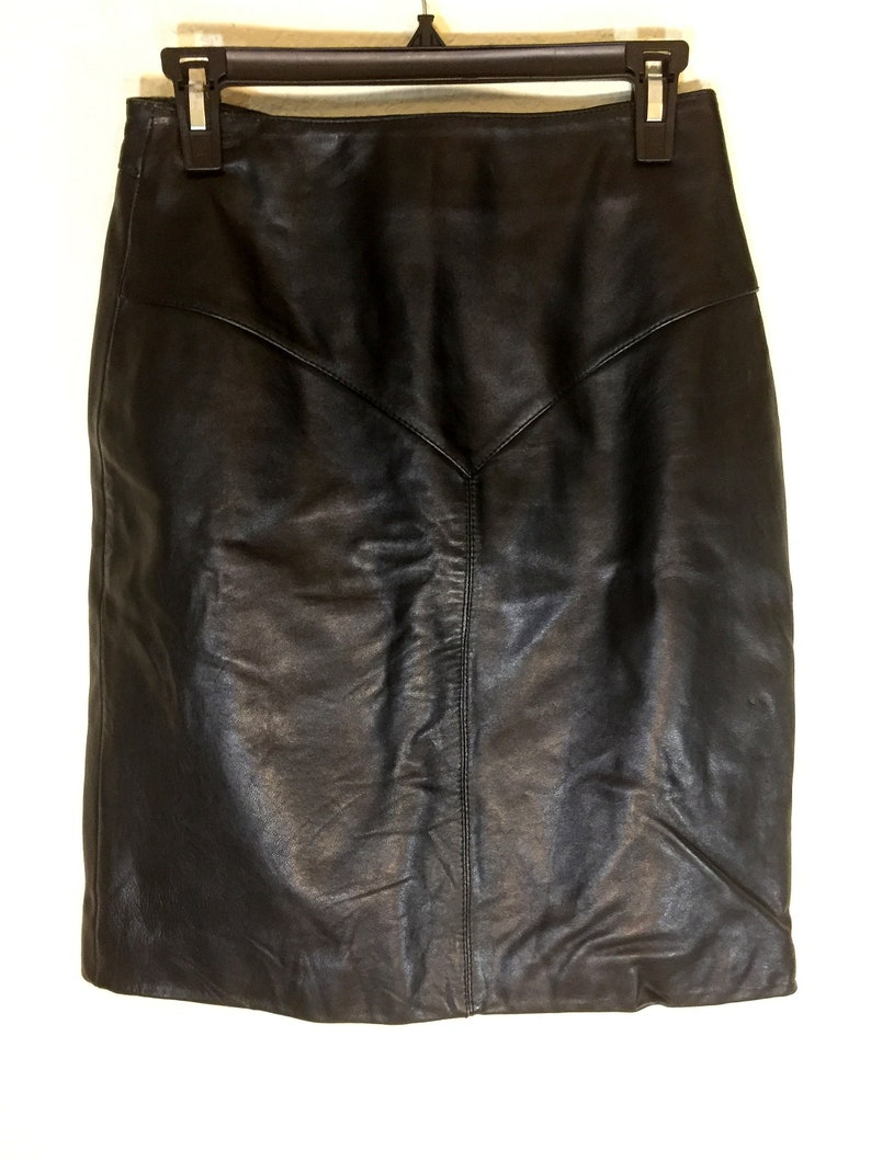 Tannery West Black Lined Pencil Vintage 1980/'s sz S