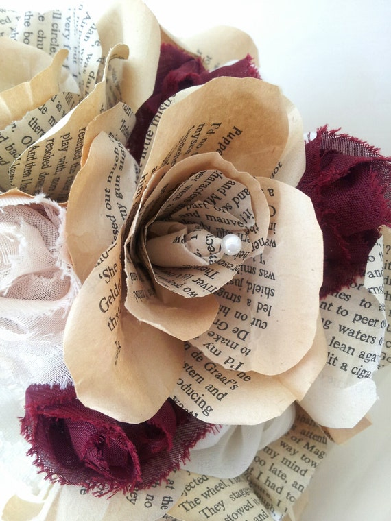 Handmade Wedding Bouquet And Boutonierre Buttonhole Vintage Etsy