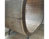 Original 1950 39 s Oval Nest Midcentury Lounge Chair