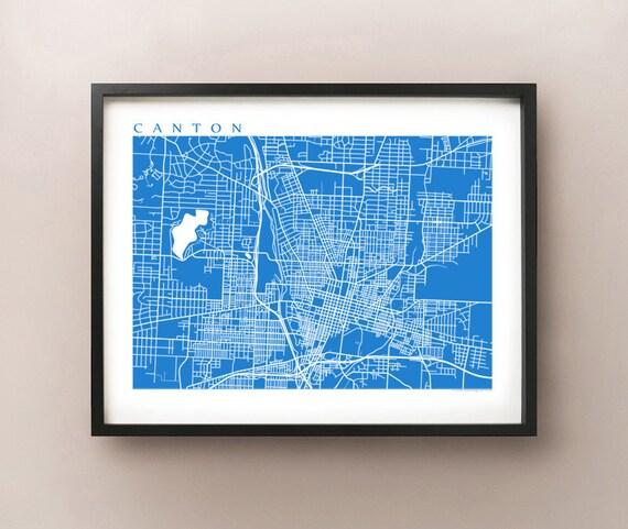 Canton Map Print - Ohio Art Poster on map of edgerton ohio, map of dublin ohio, map of wells township ohio, map of alger ohio, map of northeast ohio, map of akron ohio, map of larue ohio, detailed map of ohio, map of toledo ohio, map of parkman ohio, map of newbury ohio, map of berlin heights ohio, map of new york, map of nashville ohio, map of black river ohio, map of bowersville ohio, map of williamsfield ohio, map of new holland ohio, map of findlay ohio, map of rittman ohio,