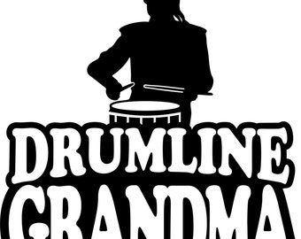 Drumline Grandma T Shirt/ Drumline Grandma Shirt/ Drumline Grandma Clothing/ Drumline/ Girl Drummer Drumline Grandma Short Sleeve T Shirt