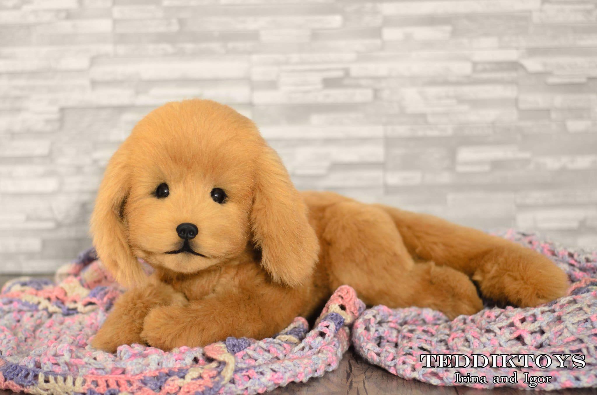 Golden Retriever Made To Order Dog Plush Toy Puppy Plush Etsy