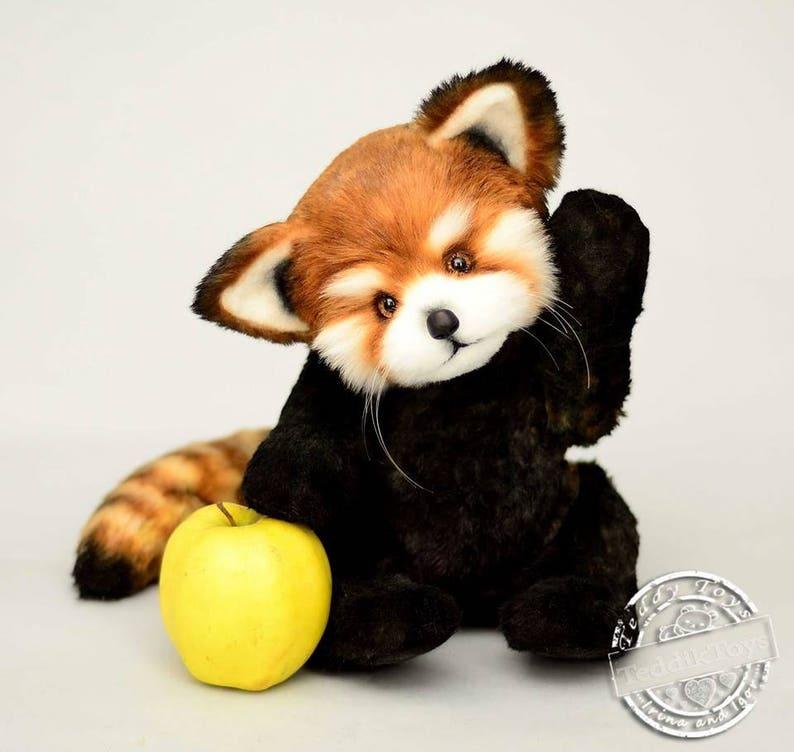 64bb1f623 Red Panda Sin-Sin made to order toy Panda plush Panda | Etsy