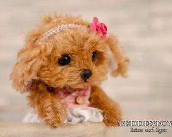 Puppy Solly, Dog Plush Toy, Puppy Plush, Dog Stuffed Animal, Stuffed Toy