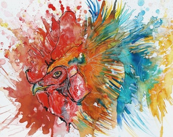 Chicken Print